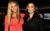 Beyonce Jay-Z'nin annesinin doğum gününde göz kamaştırdı.