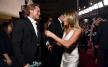 Jennifer Aniston  ve Brad Pitt SAG Ödül Törenin'de bir araya geldiler
