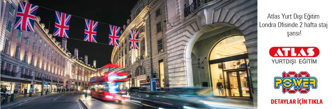 Atlas Yurt Dışı Eğitim Londra Ofisinde 2 hafta staj şansı