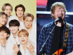 BTS & Coldplay İngiltere Single Listesinde  Ed Sheeran  ile yarışta
