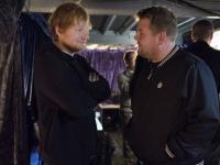 Ed Sheeran bir hafta boyunca The Late Late Show 'a katılacak