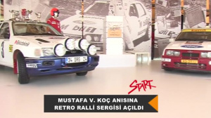 2016 Mustafa V.Koç anısına Retro Ralli Sergisi