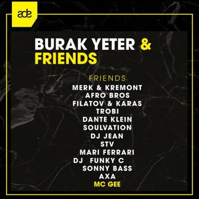 Burak Yeter & Friends /Amsterdam Dance Event