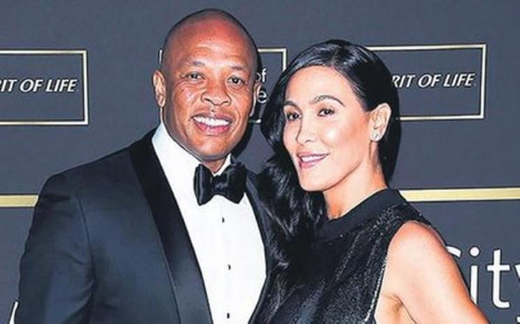 Dr. Dre'nin eşine suçlama