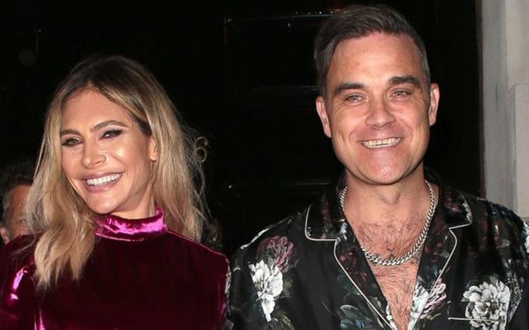 Robbie Williams and Ayda Field yeminlerini tekrar edecekler.