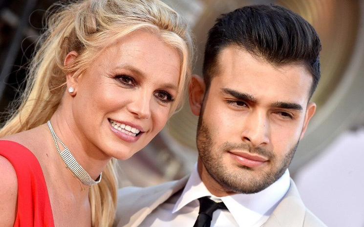 Britney Spears ve  Sam Asghari çok mutlular