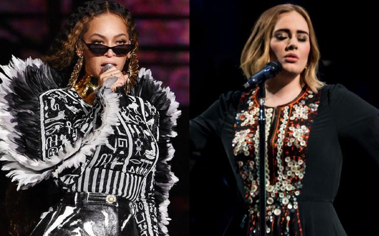 Beyonce ve Adele'den yeni bir proje!