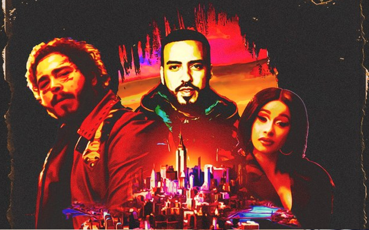 Cardi B, Post Malone ve French Montana'nın yeni işbirliği projesi!