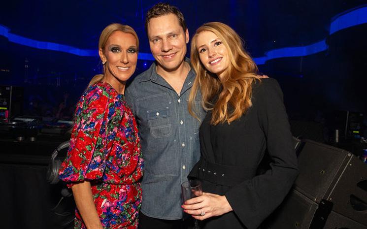 Celine Dion - Tiesto buluşması