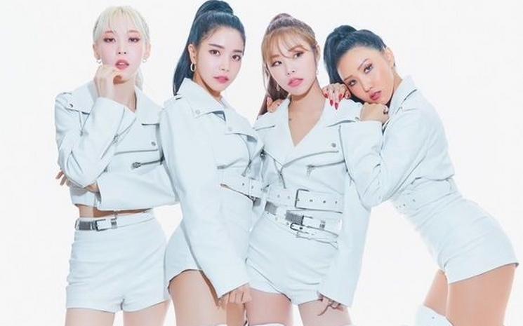 "Ünlü K-POP grubu Mamamoo'nun yeni albümü: \""Reality in Black\"""
