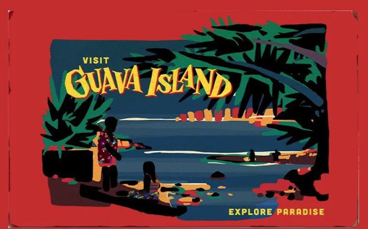 Guava Island'ı internette yayınladı.