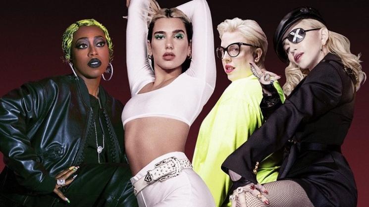 Madonna ve Missy Elliott, Dua Lipa'ya remix yapacaklar.