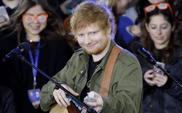 Ed Sheeran Zirvede