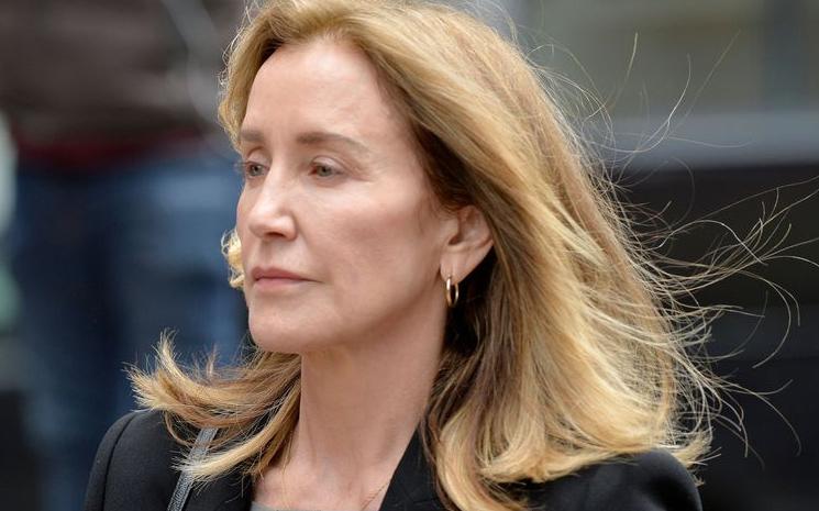 Felicity Huffman mahkemede