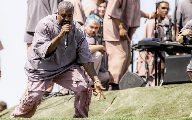 Kanye West yeni filminin fragmanını yayınladı.