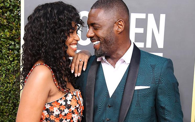 Idris Elba evlendi.