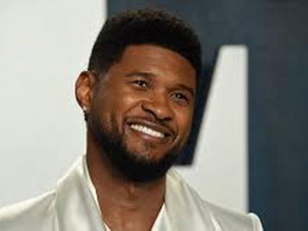 Usher, baba olmaya hazırlanıyor.