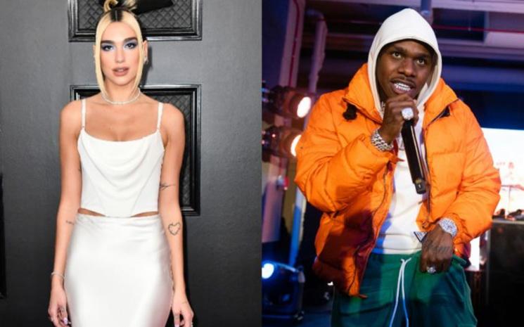 Dua Lipa, DaBaby ile yeni remix'ini paylaştı.