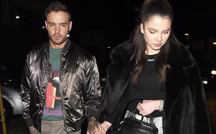 Liam Payne ve yeni kız arkadaşı Londra'da görüntülendi.