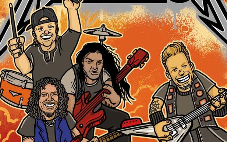 Metallica bir resimli çocuk kitabı yayımladı.
