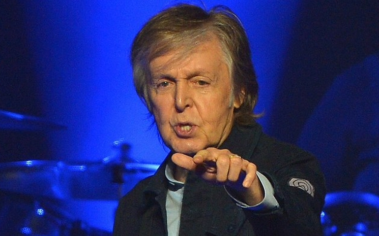 Paul McCartney Glastonbury Festivaline hazırlanıyor.
