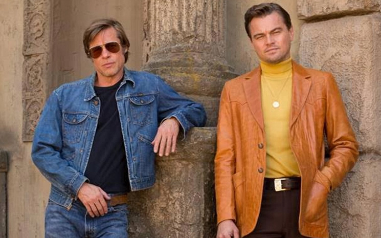 Once Upon a Time in Hollywood'dan görsel geldi.