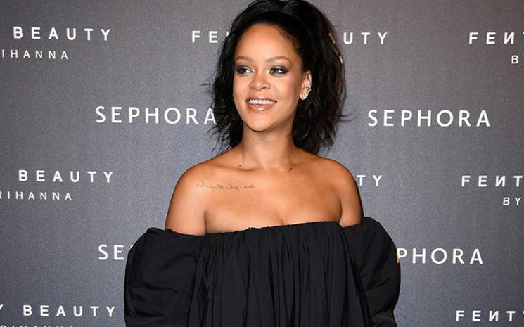 SZA'ya Rihanna'dan sürpiz geldi.