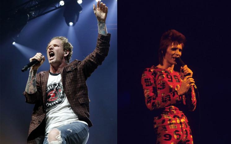 Corey Taylor, bir David Bowie cover'ı yaptı
