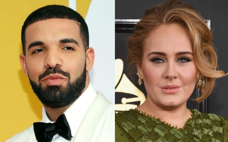 Drake'e Adele şoku